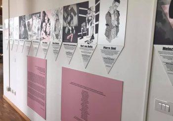 """Alla scuola di Granaretto la mostra """"Rosa Cenere"""""""