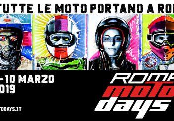 Motodays 2019 alla Fiera di Roma dal 7 al 10 marzo