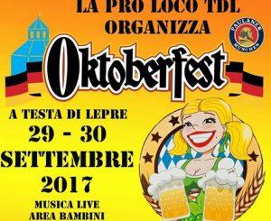 Oktoberfest a Testa di Lepre, 29-30 settembre