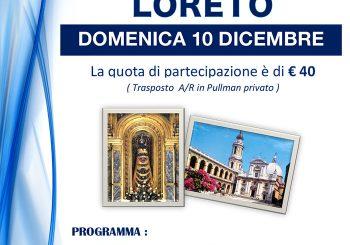 Unitalsi, Pellegrinaggio a Loreto il 10 dicembre