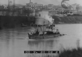 I lavori nel Porto Canale di Fiumicino (1933)
