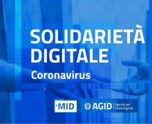 È arrivata la solidarietà digitale!