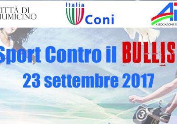 Sport contro bullismo, il 23 settembre a Villa Guglielmi