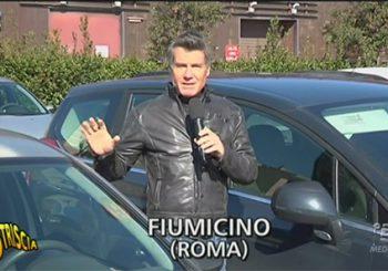 A Striscia la notizia i furti nelle auto a Parco Leonardo