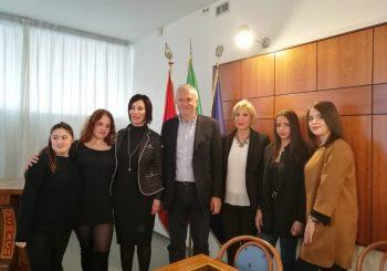 Formazione, stage allieve in Macedonia e Germania