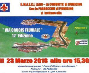 Venerdì 23 marzo, XII Via Crucis Fluviale