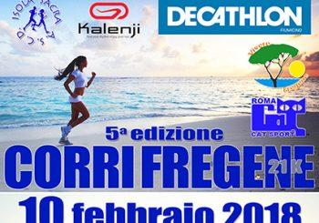 """""""Corri Fregene"""", la V edizione della gara il 10 febbraio"""